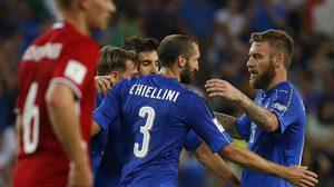 ผลบอล : คนละคลาส!! อิตาลี ฟอร์มเฉียบไล่ยำ ลิกเตนสไตน์ 5-0 คัดบอลโลก กลุ่มG