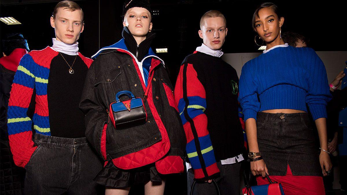Versace คอลเลคชั่นฤดูใบไม้ร่วงและฤดูหนาว 2020