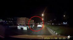 'ดีเจเจมส์' โพสต์คลิปนาทีระทึก คนขับรถบรรทุก ชักปืนยิงเก๋งขาวกลางกรุง!