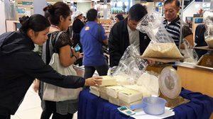 นครสวรรค์-ปทุมธานี เปิดพื้นที่ขายข้าวช่วยชาวนา