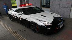 ญี่ปุ่นเปิดตัว R35 Nissan GTR พร้อมใช้เป็น รถตำรวจ บริการประชาชน