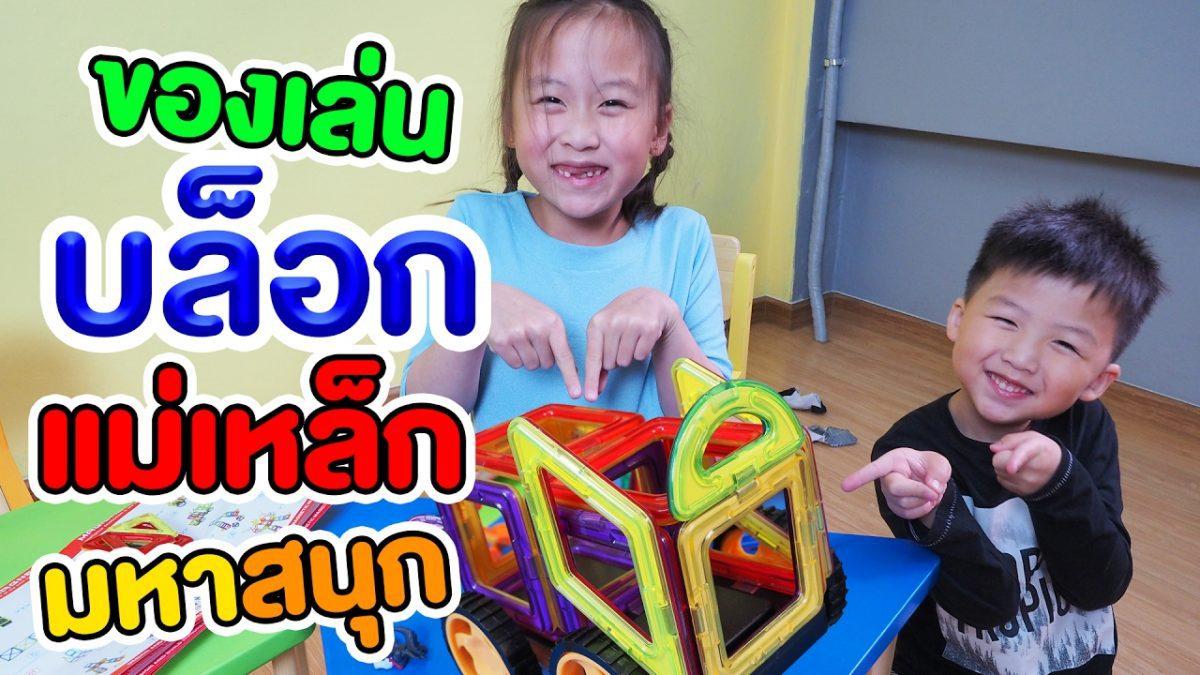 ของเล่นบล็อกแม่เหล็กมหาสนุก Magical Magnet จาก Banggood.com