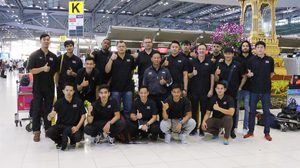 ยัดห่วงทีมชาติไทยเหินฟ้า เตรียมลุยศึก Super Kung Sheung Cup