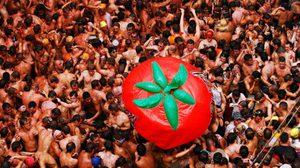 ครบรอบ 70 ปี เทศกาล ลา โทมาทินา ปามะเขือเทศแห่งสเปน!!
