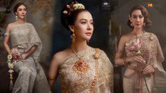 """เอมี่ กลิ่นประทุม ใน ชุดไทยโบราณ คอลเลกชั่นใหม่ล่าสุด """"The  Color of Lotus"""""""