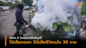 """จับตา """"5 โรคระบาด"""" ในไทย ในช่วงนี้"""