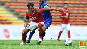 ผลบอลชาย: ทีมชาติไทย โดนอิเหนายิงโทษไล่เจ๊า 1-1 ประเดิมซีเกมส์ 2017
